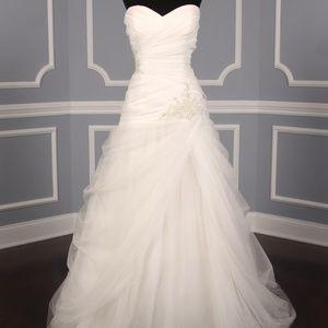 Casablanca 2109 Organza Wedding Dress Size 14